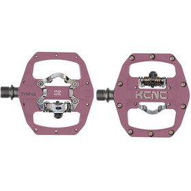 KCNC FR Trap Pedali Clipless Dual Side, pink